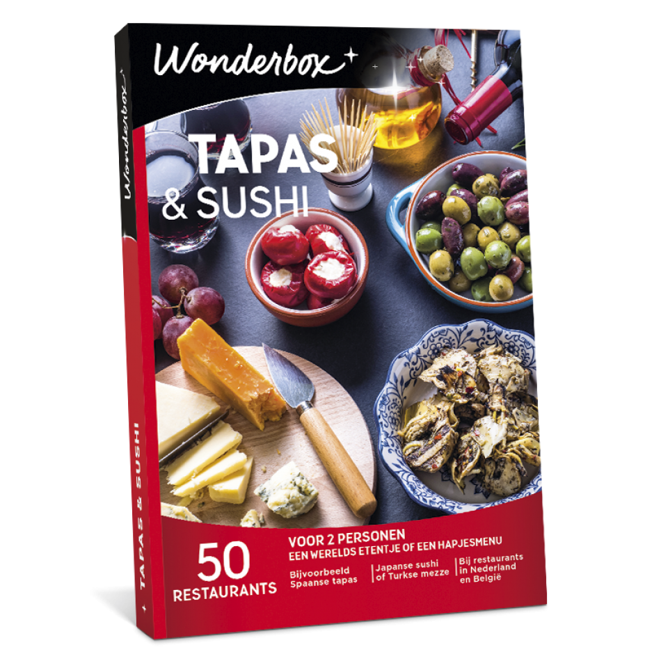 Wonderbox - Tapas & Sushi